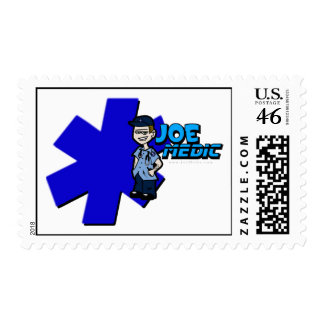 Joe star of life Large Stamps
