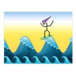 Joe Surfer Post Card