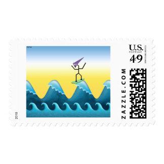 Joe Surfer Postage