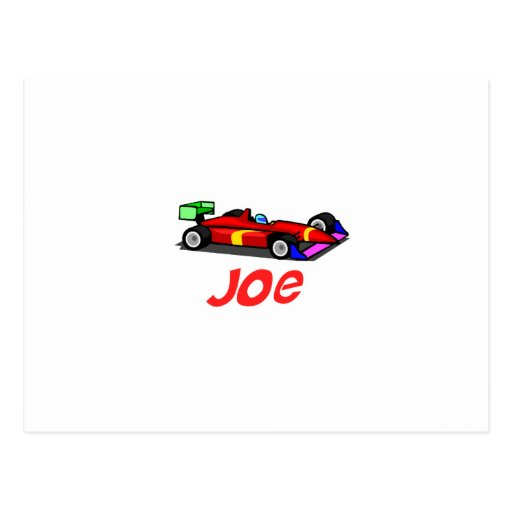 Joe Tarjeta Postal
