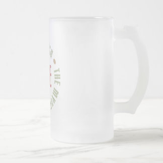Joe The Man The Myth The Legend Tees Gifts Frosted Glass Beer Mug