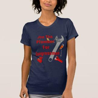 Joe The Plumber For Congressman T-Shirt