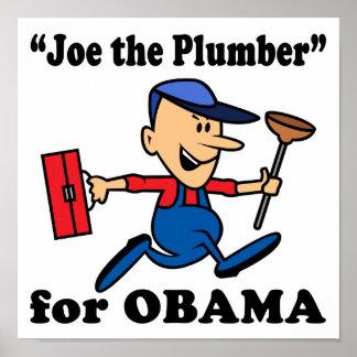 Joe the Plumber for Obama Poster