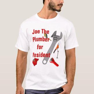 Joe The Plumber For President - Customized T-Shirt