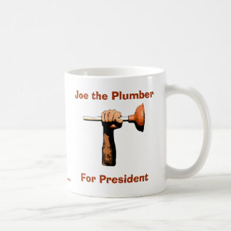 Joe the Plumber For President Mugs