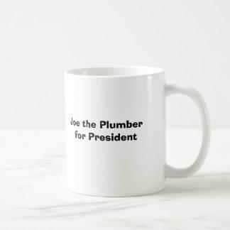 Joe the Plumber for President Coffee Mugs