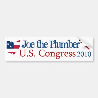 Joe the Plumber for US Congress 2010 - Bumper Stic Car Bumper Sticker