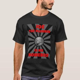 Joe the Plumber is My Homeboy  - Men's Black Tee