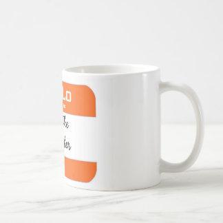 Joe The Plumber orange mug