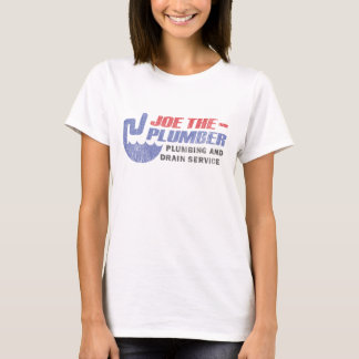 Joe The Plumber - Plumbing and Drain Service T-Shirt
