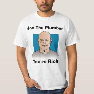 Joe The Plumber, You're Rich T-Shirt