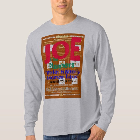 Joe & the Plumbers Winter Tour Long Sleeve Shirt
