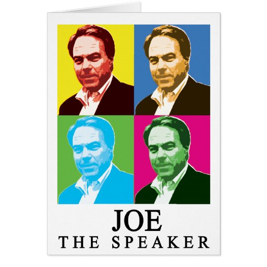 Joe The Speaker (With Title) Card