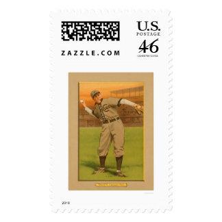 Joe Tinker Cubs Baseball 1911 Postage Stamp