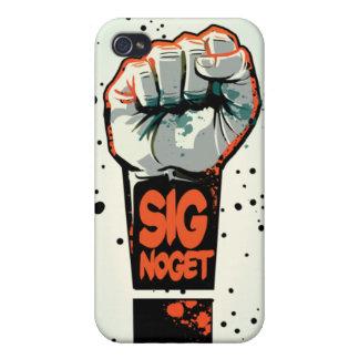 """JOE TRUE """"Sig Noget"""" iPhone 4 case"""