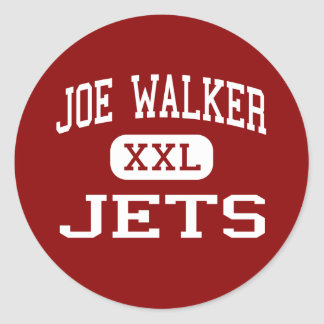 Joe Walker - Jets - Middle - Quartz Hill Sticker