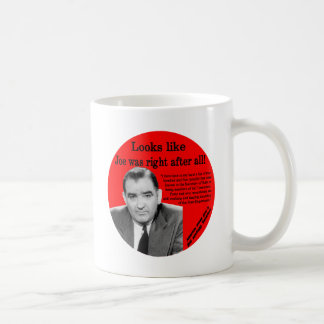 Joe Was Right Coffee Mug