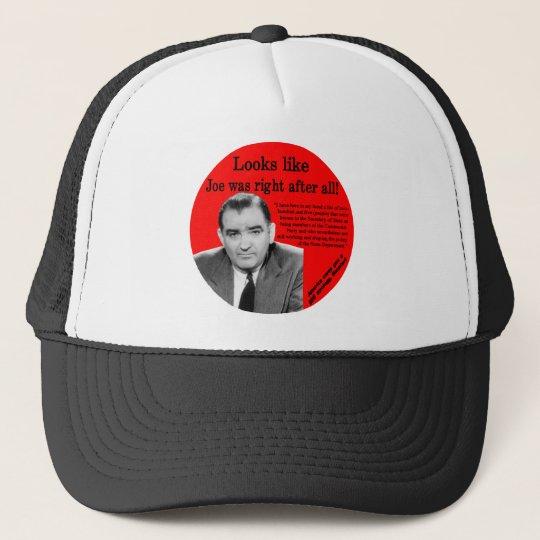 Joe Was Right Trucker Hat