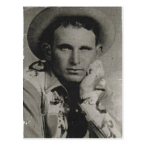 Joe Watts, Texas Cowboy Postcard