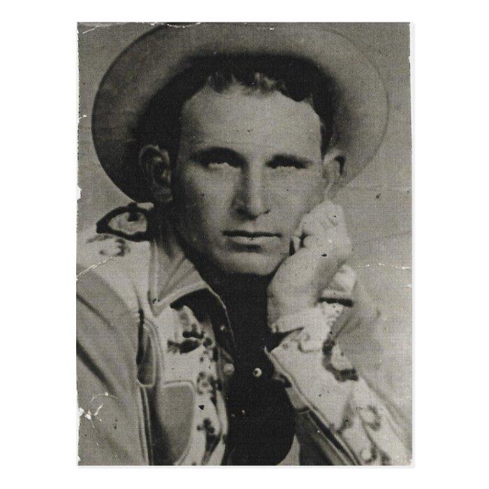 Joe Watts, Texas Cowboy Postcard