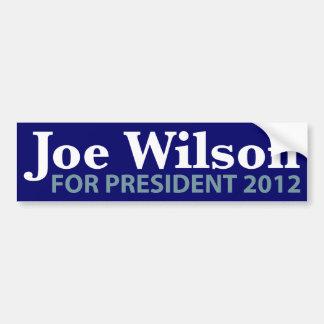 Joe Wilson for President 2012 Bumper Sticker