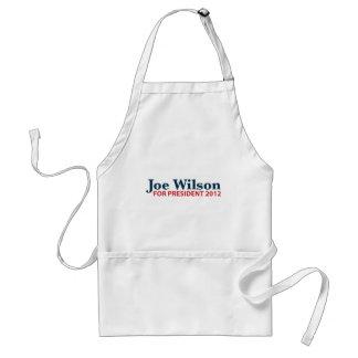 Joe Wilson para el presidente 2012 Delantal