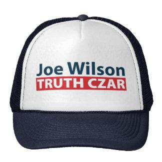 Joe Wilson Truth Czar Mesh Hats
