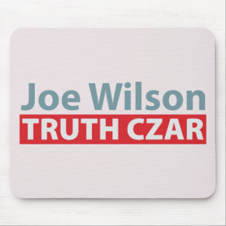 Joe Wilson Truth Czar Mouse Pad