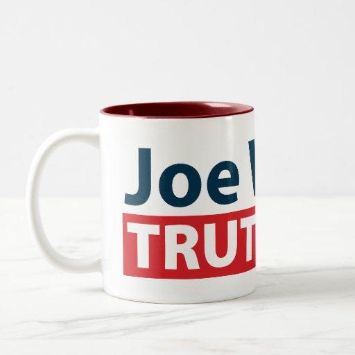 Joe Wilson Truth Czar Two-Tone Coffee Mug