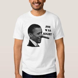 Joe Wilson Was Right Shirt