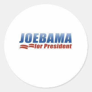 Joebama for President Stickers
