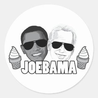 JoeBama Ice Cream Classic Round Sticker
