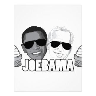 JoeBama Ice Cream Letterhead