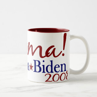 JoeBama (Obama Biden 2008) Two-Tone Coffee Mug