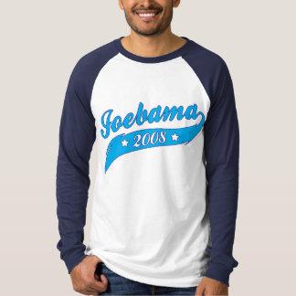 Joebama Obama Biden Retro Style Blue Graphic Shirt