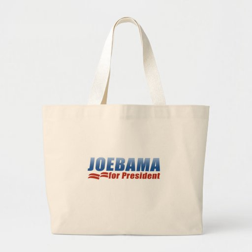 Joebama para el presidente bolsas lienzo