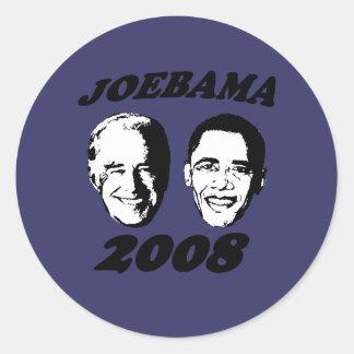 JOEBAMA T-SHIRTS & GIFTS ROUND STICKER