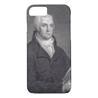 Joel Barlow (1754-1812), engraved by Asher Brown D iPhone 8/7 Case