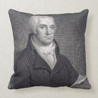 Joel Barlow (1754-1812), engraved by Asher Brown D Pillow