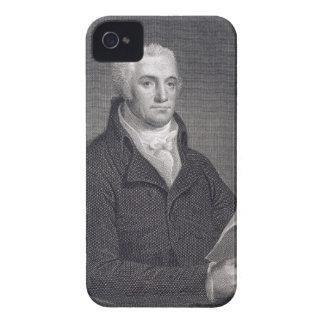 Joel Barlow (1754-1812), grabado por Asher Brown D Case-Mate iPhone 4 Cárcasas