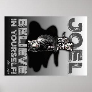 Joel- Believe in Yourself!  Custom Poster