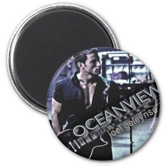 Joel Geleynse Music Merchandise OCEANVIEW 2 Inch Round Magnet