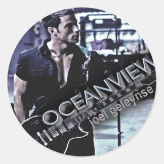Joel Geleynse Music Merchandise OCEANVIEW Classic Round Sticker