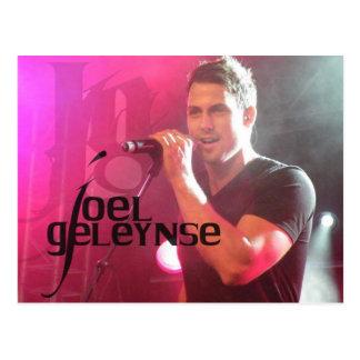 Joel Geleynse Music Merchandise Postcard