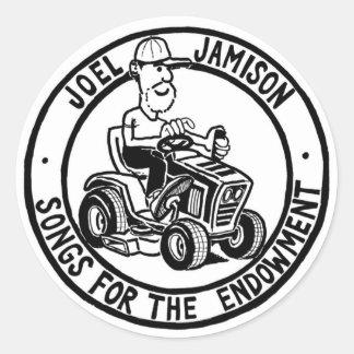 Joel Jamison's Favorite Stickers! Classic Round Sticker