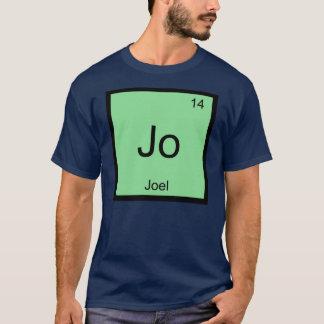 Joel  Name Chemistry Element Periodic Table T-Shirt
