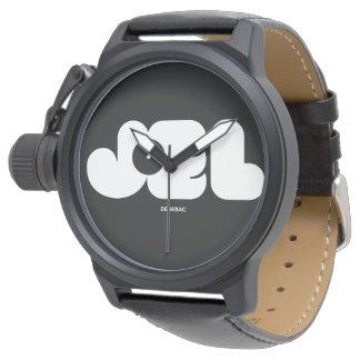JOEL NAME / Mens Black Watch Reloj