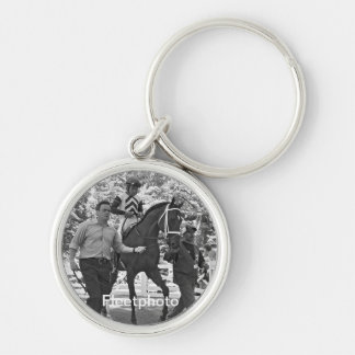 Joel Rosario on High Ransom Silver-Colored Round Keychain