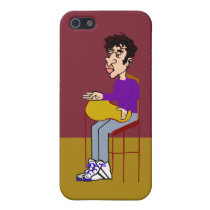 Joel Sitting iPhone Case