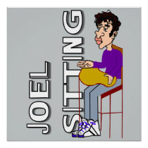 Joel Sitting Poster